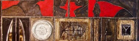 Four Great Latin Artists are Showcased at RosettaStone Fine Art Gallery:  Jesus Rivera, Vincente Dopico-Lerner, Gustavo Castillo, and Carmen Lagos